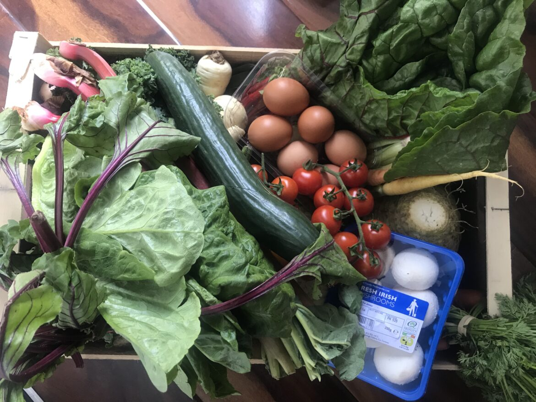 #coronavirus reshapes economy: Seasonal veg boxes on the rise. Top 5 veg boxes around Ireland